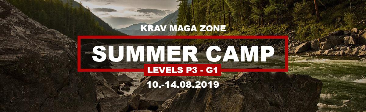 Krav Maga Praha Summer Camp 2019